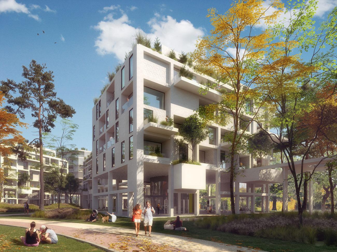 Fenix residential complex competition | Praha | CZ